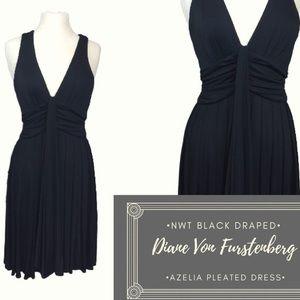 NWT Diane Von Furstenberg Little Black Dress Sz 8